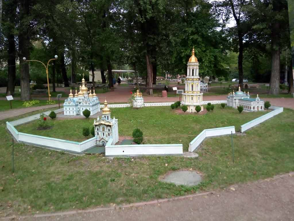 Kiev Pechersk Lavra in miniature