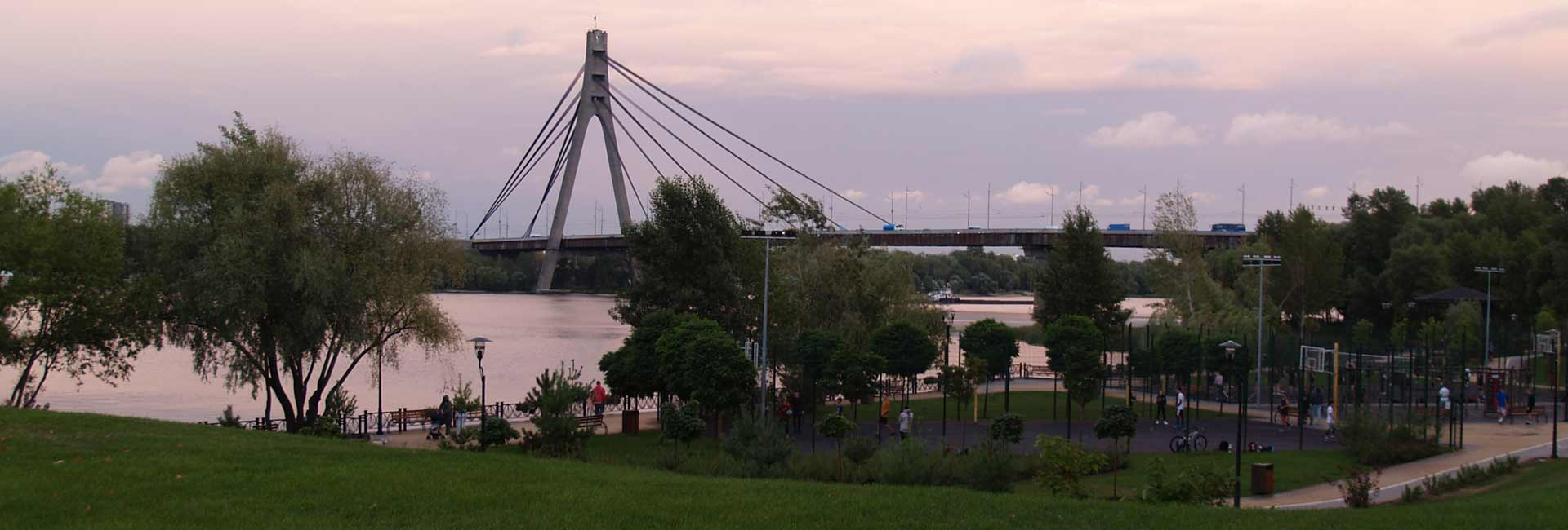 North Bridge in Kiev